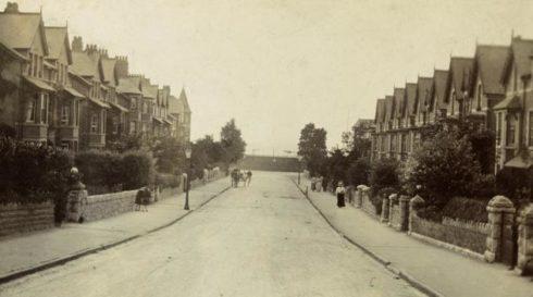 mostyn-road-bae-colwyn-c1908llyfrgell-genedlaethol-cymru