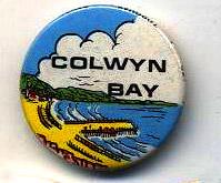 """bathodyn: """"Colwyn Bay"""" badge"""