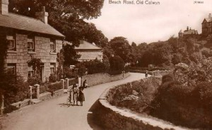 Beach Rd Hen Golwyn 1910